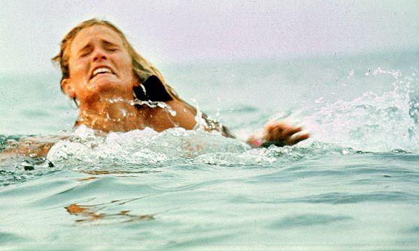 """""""Der weiße Hai"""" (1975). / Bild: (c) imago/Cinema Publishers Collecti"""