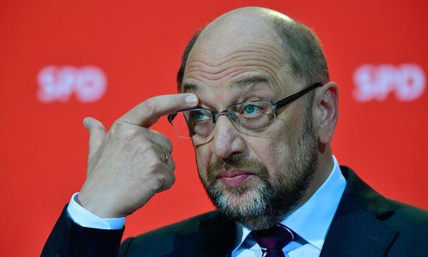 Für Martin Schulz beginnt ein Hürdenlauf. / Bild: (c) APA/AFP/JOHN MACDOUGAL