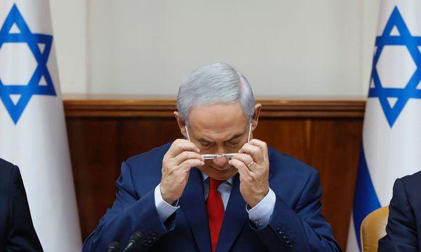 Premier Benjamin Netanjahu. / Bild: (c) APA/AFP/POOL/GALI TIBBON