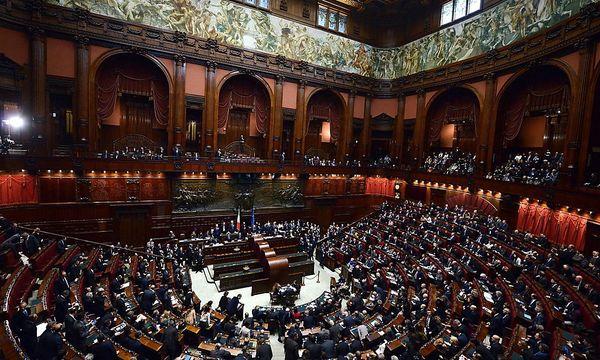 ITALY CHAMBER OF DEPUTIES / Bild: EPA