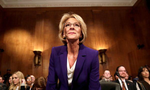Neue US-Bildungsministerin Betsy DeVos / Bild: REUTERS