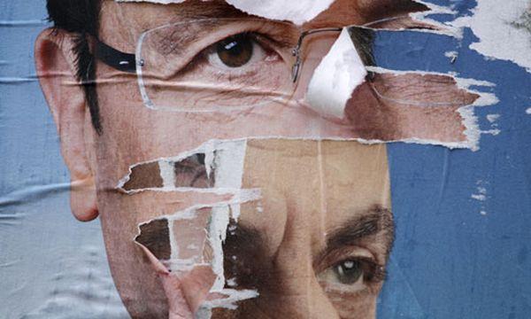 Sarkozy schloss Kampagne mit heftigen Attacken ab  / Bild: Reuters (Stephane Mahe)