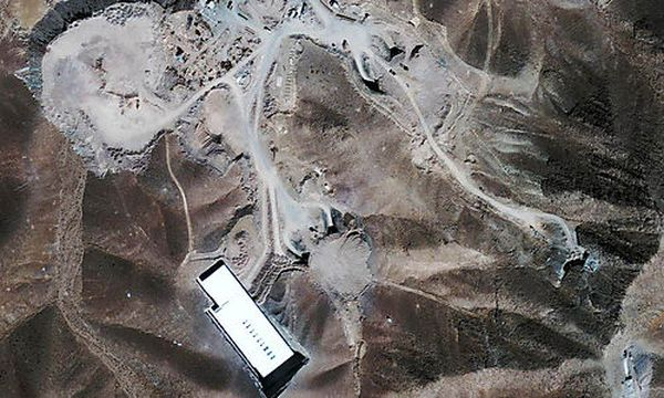 Iran Atomanlage / Bild: (c) AP ()
