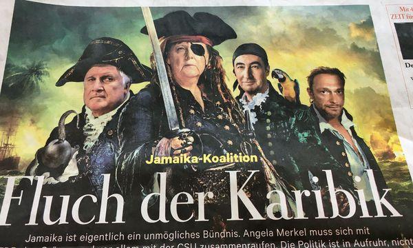 """Das aktuelle Cover der """"Zeit"""" / Bild: Die Presse"""