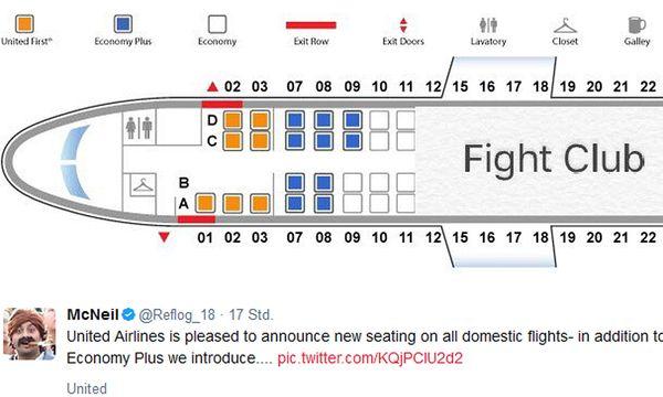 Häme für United Airlines / Bild: (c) Twitter McNeil