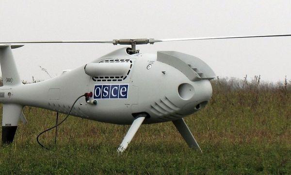 Eine Drohne des österreichischen Herstellers Schiebel wird in der Ostukraine getestet / Bild: REUTERS