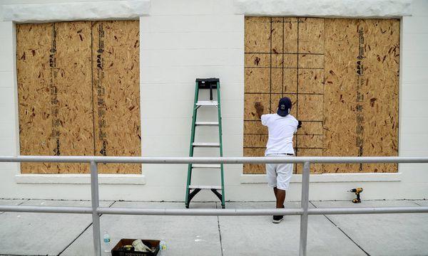 Auch im US-Bundesstaat Florida bereitet man sich auf Irma vor. Die Ankunft des Wirbelsturms wird am Freitag erwartet.  / Bild: (c) imago/ZUMA Press