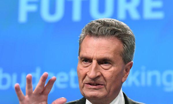 Günther Oettinger  / Bild: APA/AFP (EMMANUEL DUNAND)