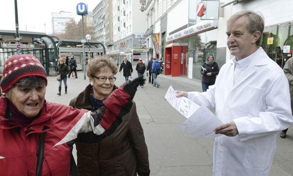 Aktionstag der Ärzte / Bild: (c) APA HANS KLAUS TECHT (HANS KLAUS TECHT)