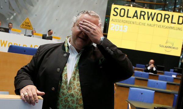 Frank Asbeck ist mit seiner Solarworld gescheitert / Bild: REUTERS