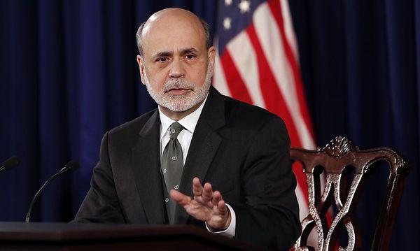 Archivbild: US-Zentralbankchef Ben Bernanke / Bild: (c) REUTERS (KEVIN LAMARQUE)