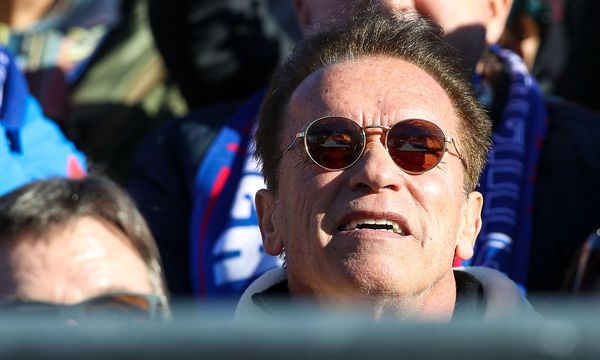Schwarzenegger und Trump stehen im Clinch. / Bild: GEPA pictures