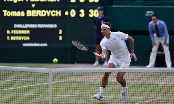 Federer erneut im Wimbledon-Finale / Bild: APA/AFP/ADRIAN DENNIS