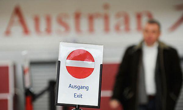 AUSTRIAN AIRLINES (AUA) / Bild: (c) APA/ROBERT JAEGER (Robert Jaeger)
