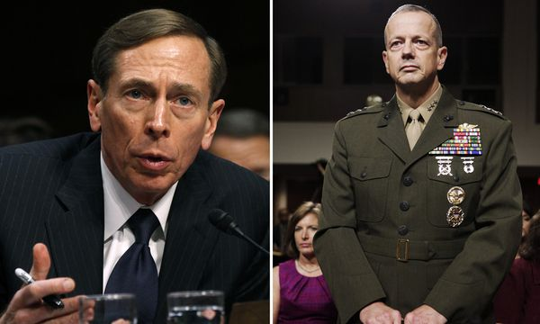 David Petraeus und John Allen / Bild: (c) REUTERS (STAFF)