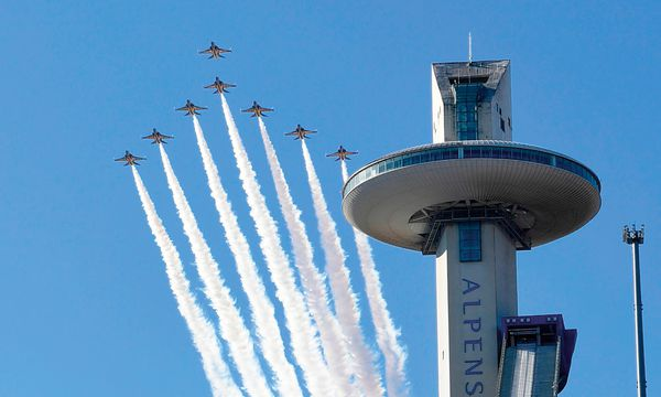 (c) APA/AFP/YONHAP (YONHAP) Pyeongchang. Die Olympischen Winterspiele beginnen am 9. Februar.