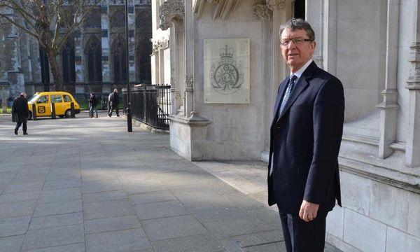 Sir Brian Burridge in der Londoner City / Bild: (c) Greber