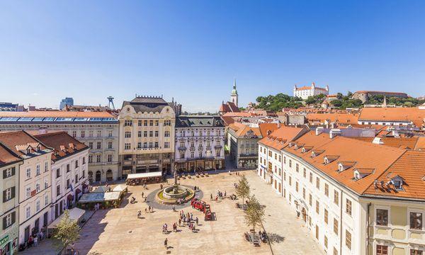 Imago Das Gegenstück: die restaurierte Altstadt.