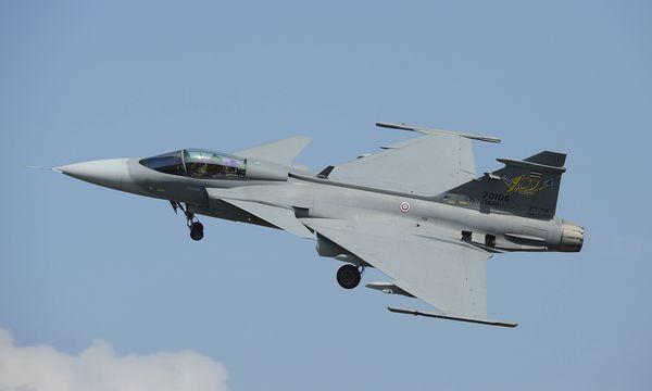 Eine JAS 39 Gripen von Saab. / Bild: (c) imago/StockTrek Images (imago stock&people)