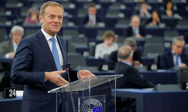 Donald Tusk hat einen Termin für den EU-Brexit-Gipfel festgelegt. / Bild: (c) REUTERS (VINCENT KESSLER)
