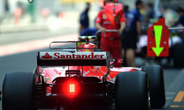 Mehr als nur ein Rücklicht, eher ein Warnsignal, das Ferrari an die Formel 1, ihre Rechteinhaber und den Automobilweltverband ausgeschickt hat. / Bild: (c) APA/AFP/PEDRO PARDO