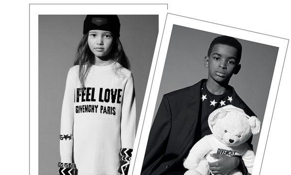 (c) Beigestellt High Fashion. Bloß nicht lächeln. Bei Givenchy sind schon die Kleinen ganz groß.