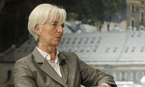 IWF-Chefin Christine Lagarde / Bild: (c) REUTERS (INTS KALNINS)