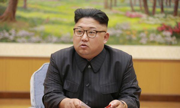 Die USA wollen das Vermögen von Kim Jung-un einfrieren und Nordkorea mit einem Öl-Embargo belegen / Bild:  AFP (STR)