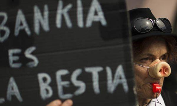 Proteste in Spanien / Bild: (c) AP (Emilio Morenatti)