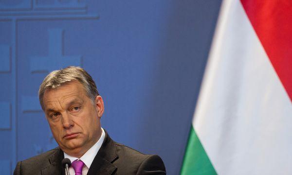 Ministerpräsident Orbán will eine Verteilung von Flüchtlingen mit aller Kraft verhindern. / Bild: (c) PuzzlePix / Rex Features / picturedesk