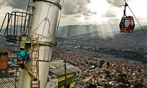 Medellín von oben / Bild: Imago