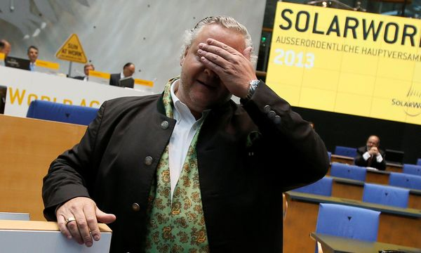 Solarworld-Chef Frank Asbeck  / Bild: REUTERS