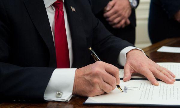 Donald Trumps Einreiseverbot für Muslime könnte die Radikalisierung in den USA vorantreiben. / Bild: (c) APA/AFP/NICHOLAS KAMM (NICHOLAS KAMM)