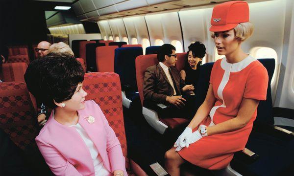 Als Fliegen noch ein Erlebnis für wenige Auserwählte war. / Bild: (c) Archiv