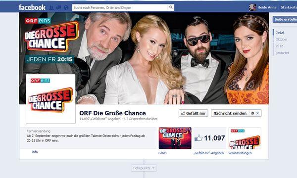 Muss der ORF seine Facebook-Seiten löschen? / Bild: (c) Screenshot: DiePResse.com