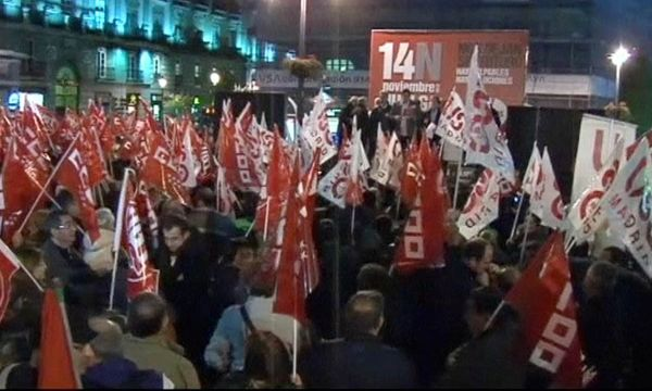 Europaweite Streiks /