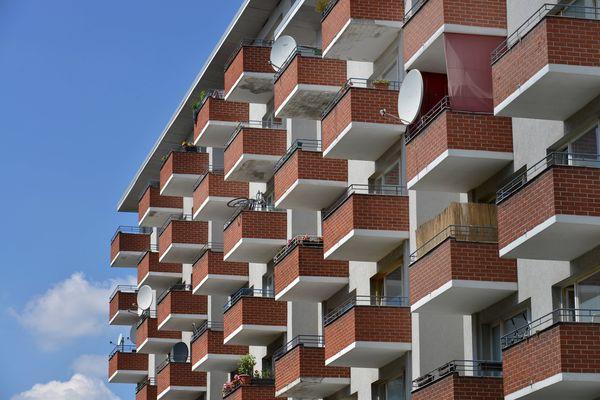 Neubauten Schwiebusser Strasse Kreuzberg Berlin Deutschland Neubauten Kreuzberg Berlin Deutschla / Bild: (c) imago/Sch�ning (Schoening)