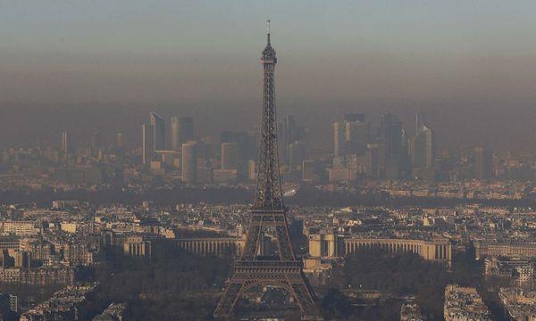 Paris: Stadt der Liebe - und des Smogs. / Bild: (c) REUTERS/PHILIPPE WOJAZER