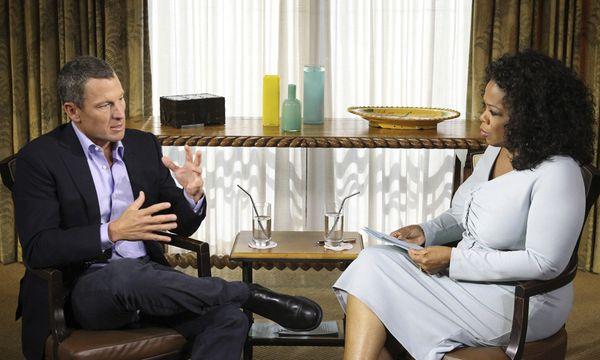 Lance Armstrong und Oprah Winfrey / Bild: (c) Reuters (George Burns)
