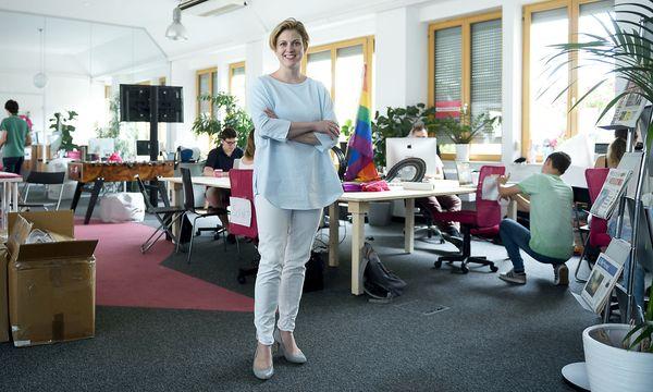 Neos-Vizechefin Beate Meinl-Reisinger. / Bild: Clemens Fabry