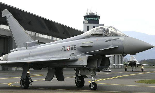 Eurofighter / Bild: APA/HARALD SCHNEIDER