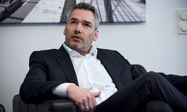 ÖVP-Generalsekretär Karl Nehammer. / Bild: (c) Clemens Fabry