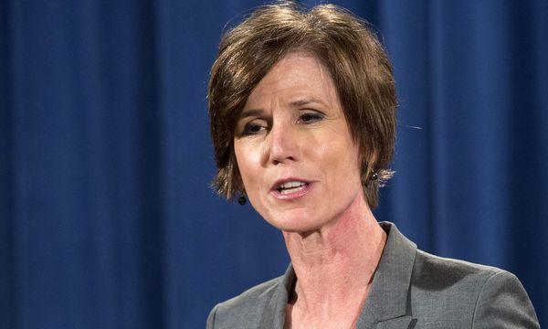 Sally Yates. / Bild: (c) APA/AFP/SAUL LOEB