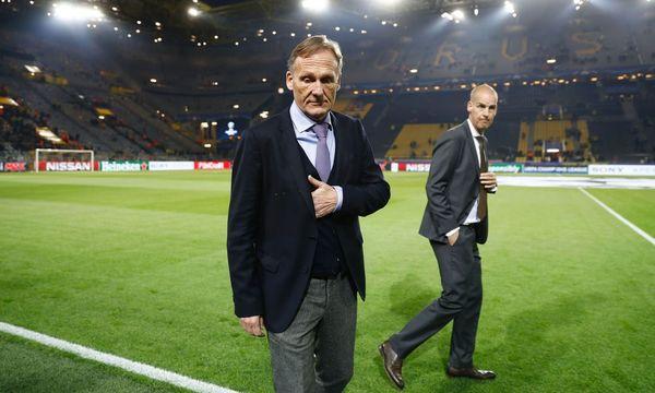Hans-Joachim Watzke hat im Stadion von den Explosionen erfahren. / Bild: APA/AFP/ODD ANDERSEN