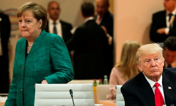 Angela Merkel und Donald Trump.  / Bild: REUTERS/Markus Schreiber/Pool/File Photo