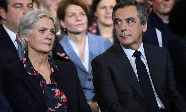 Wahlkampf unter erschwerten Bedinungen: Hat Francois Fillon seine Frau Penelope nur zum Schein als Mitarbeiterin beschäftigt? / Bild: (c) APA/AFP/ERIC FEFERBERG (ERIC FEFERBERG)