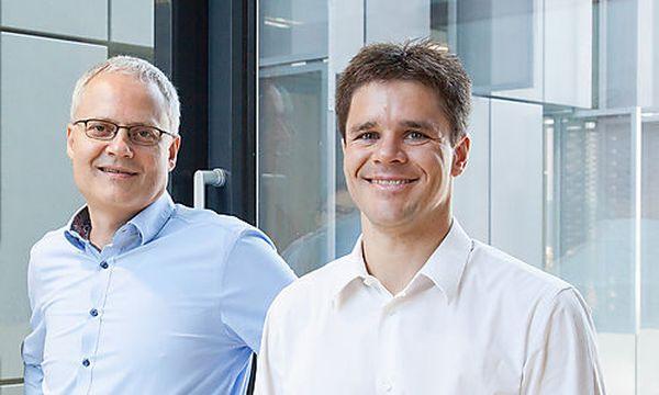 CEO/Mitgründer Andreas Krug (li) und CTO/Mitgründer Peter Beck (re). / Bild: (c) The Schubidu Quartet