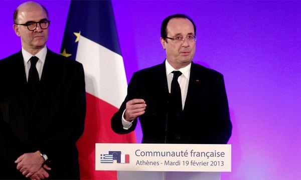 Frankreich verfehlte Defizitziel 2012 / Bild: (c) EPA (ALKIS KONSTANTINIDIS)