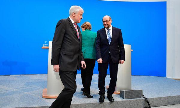 """""""GroKo"""" in Deutschland / Bild: APA/AFP/TOBIAS SCHWARZ"""