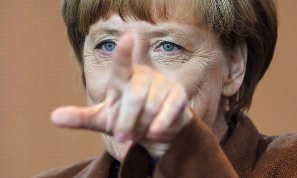 Merkel / Bild: (c) REUTERS (HANNIBAL HANSCHKE)